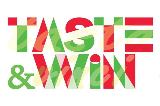 Taste&Win, Gusta e Vinci la Sicilia!