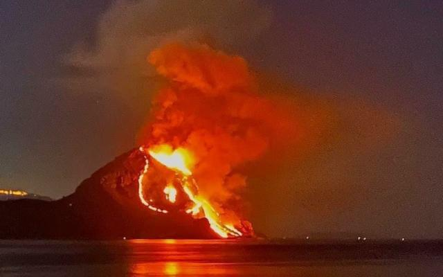 Monte Cofano distrutto dalle fiamme!