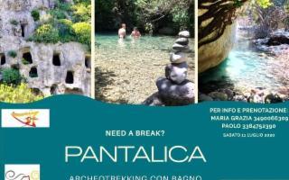 Archeotrekking con bagno a Pantalica