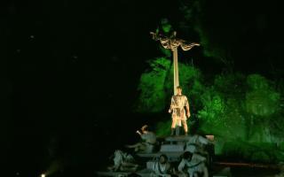 Nel magnifico scenario delle Gole dell'Alcantara, l'Odissea di Omero