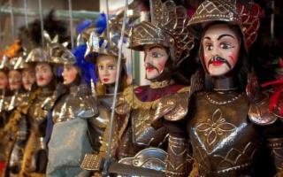 Sicilian Puppets Series - ''La morte di Agricane''