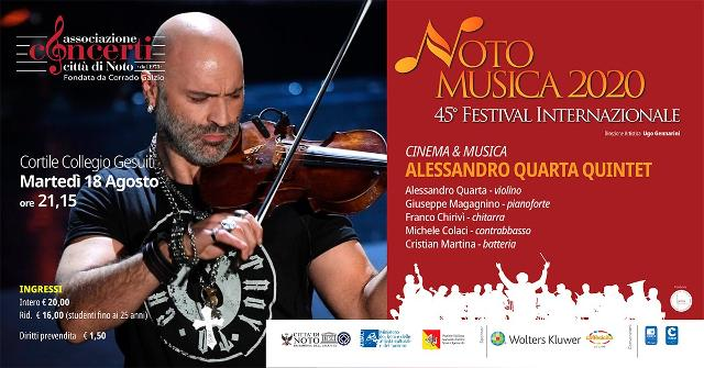 noto-musica-2020-alessandro-quarta-quintet