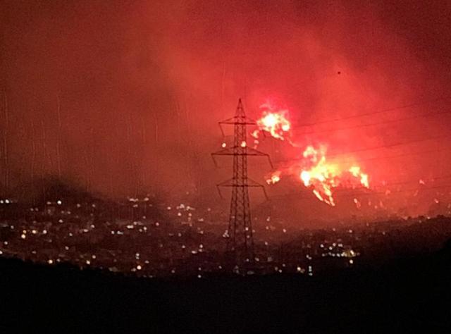 Incendio ad Altofonte