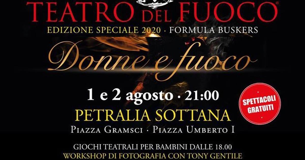 """""""Donne e Fuoco"""" edizione tutta al femminile del Teatro del Fuoco"""