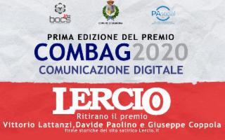 Alla redazione satirica di Lercio il premio della prima edizione di ComBag
