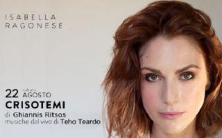 """''Per Voci Sole'' - Isabella Ragonese con """"Crisotemi"""" di Ghiannis Ritsos"""