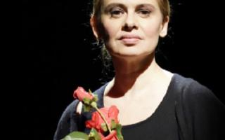 Debora Caprioglio in ''Callas D'Incanto''