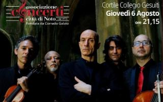 Noto Musica 2020 - Peppe Servillo & Solis String Quartet