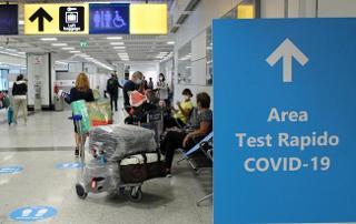 Al via i test rapidi Covid-19 all'aeroporto di Palermo: referto in 15 minuti