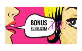 Vuoi richiedere il Bonus Pubblicità 2020? Hai tempo fino al 30 settembre
