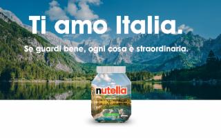 Nutella special edition con la Scala dei Turchi e Stromboli
