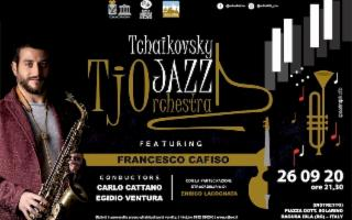 Tjo Tchaikovsky Jazz Orchestra con special guest Francesco Cafiso