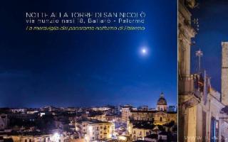 Notte alla Torre medievale di San Nicolò. La vista più bella di Palermo