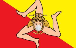 In Sicilia con le mascherine anche all'aperto