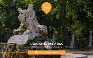 Il Giardino iniziatico di Villa Giulia. Visita guidata tra simbolismo e architettura