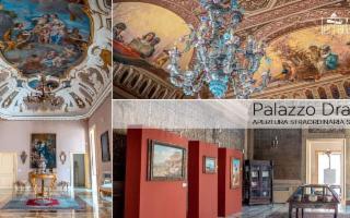 Visite straordinarie serali a Palazzo Drago