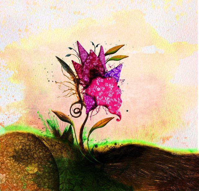 L'etichetta del Passito di Pantelleria DOC Serapias è dell'artista Nancy Rossit