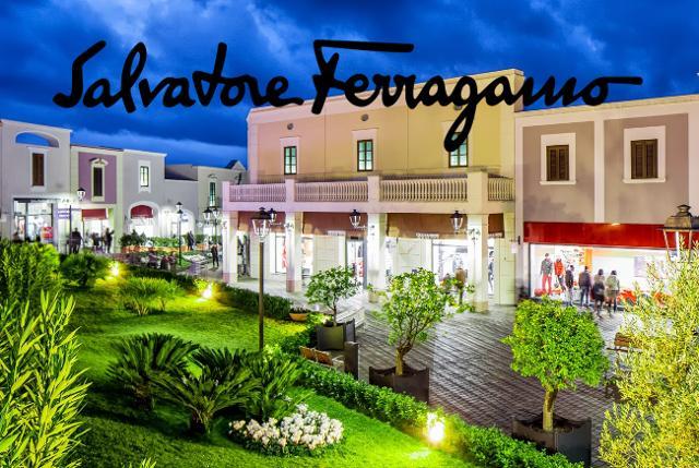 Sicilia Outlet Village dà il benvenuto a Salvatore Ferragamo
