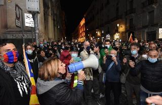 Anche in Sicilia si protesta contro l'ultimo Dpcm