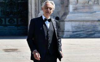 Andrea Bocelli in concerto a Noto per promuovere i siti Unesco siciliani
