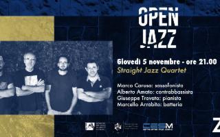 Open Jazz con Straight Jazz Quartet