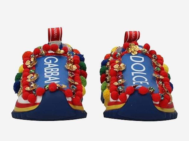 Sneakers che passione! Tra le più vendute le D&G ''Carretto Siciliano''