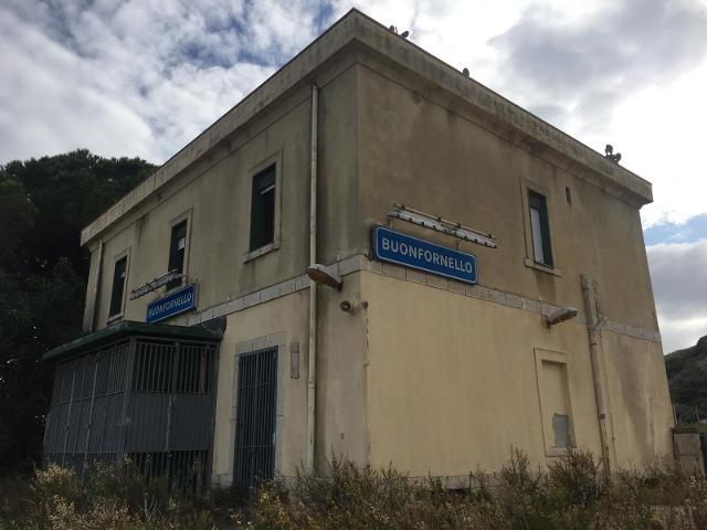 L'ex Stazione ferroviaria di Buonfornello