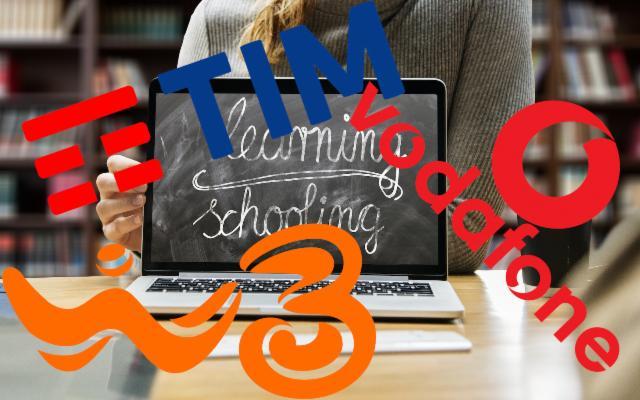 Come attivare i Giga illimitati gratis di Tim, Vodafone e WindTre per la DAD