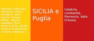 Col nuovo Dpcm l'Italia è diventata gialla, arancione, rossa…