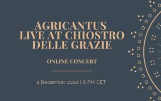 Al Chiostro delle Grazie di Vittoria, concerto in streaming degli Agricantus