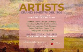 Artists - Collettiva di grandi maestri del '900