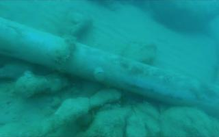 Il mare di Agrigento restituisce un cannone del XVI secolo