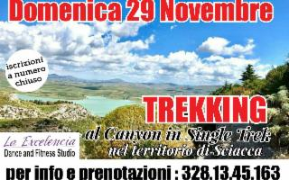 Single Trek al Canyon della Tardara - Annullata Causa Meteo