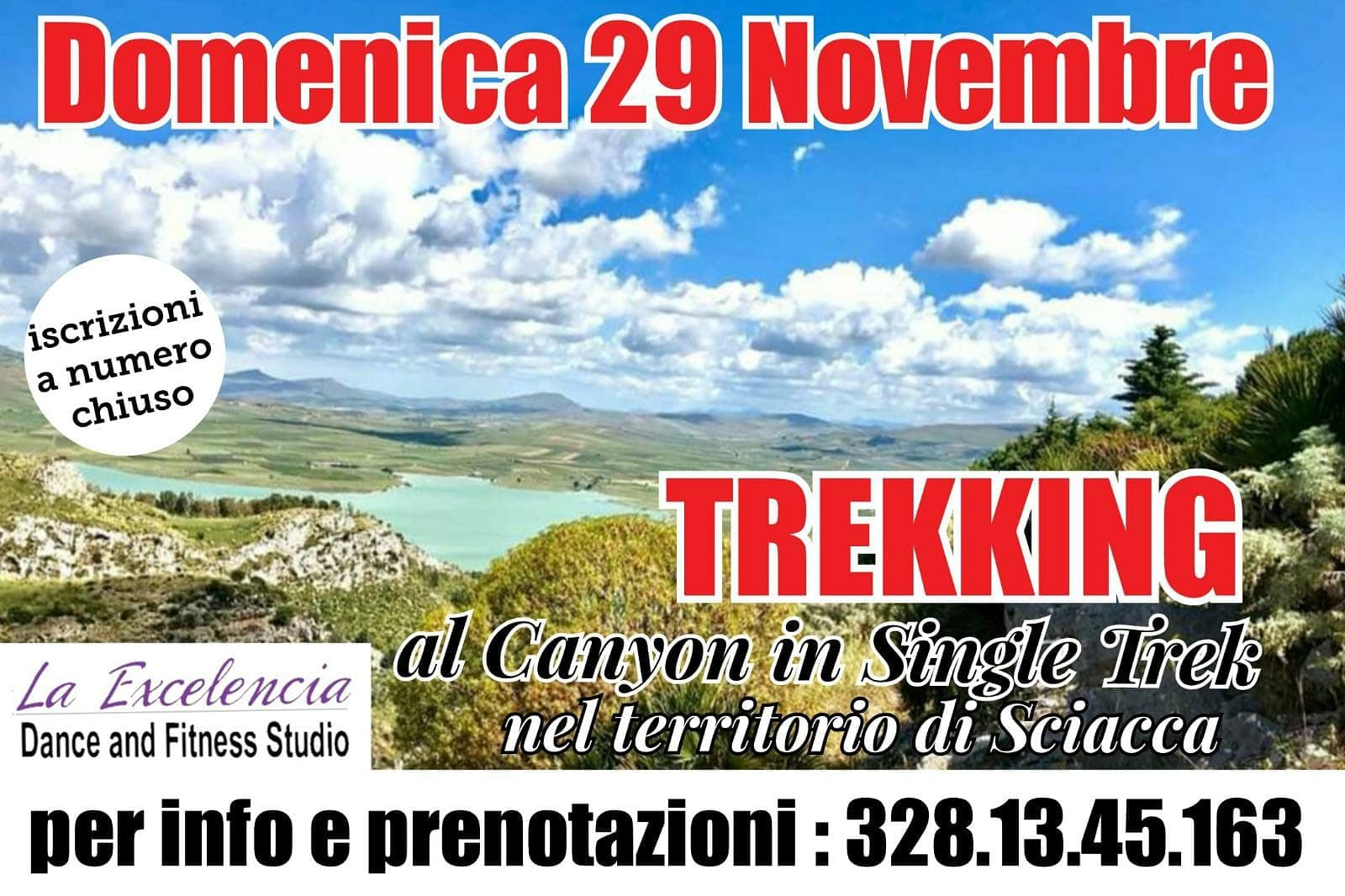 Single Trek al Canyon della Tardara