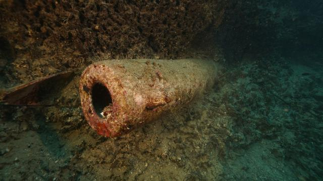 Dal mare di Porticello (PA) recuperata un'anfora del IV sec. a.C.