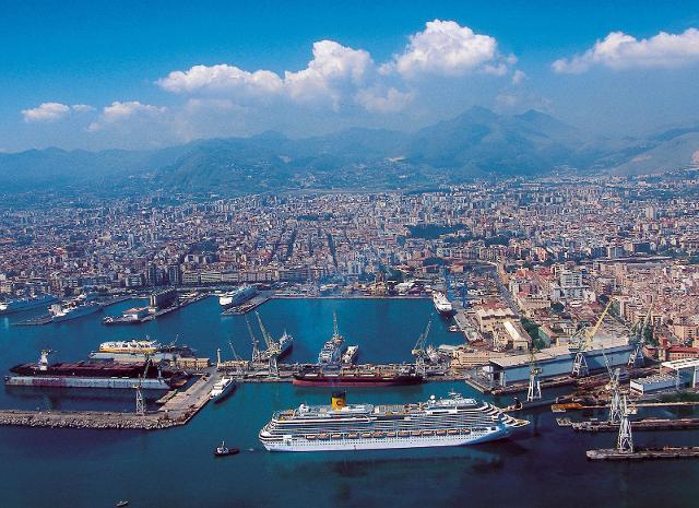 Palermo diventerà uno dei poli navalmeccanici più importanti del Mediterraneo