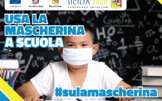 #sulamascherina, al via la campagna del Fondo sociale europeo Sicilia