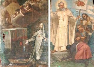 La storia del ritrovamento di due dipinti del '700 scomparsi da una chiesa di Modica