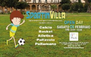 A Villa Filippina a Palermo l'Open Day di ''Sportinvilla''