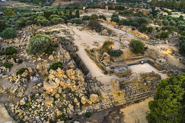 L'area del Tempio di Giove Olimpo