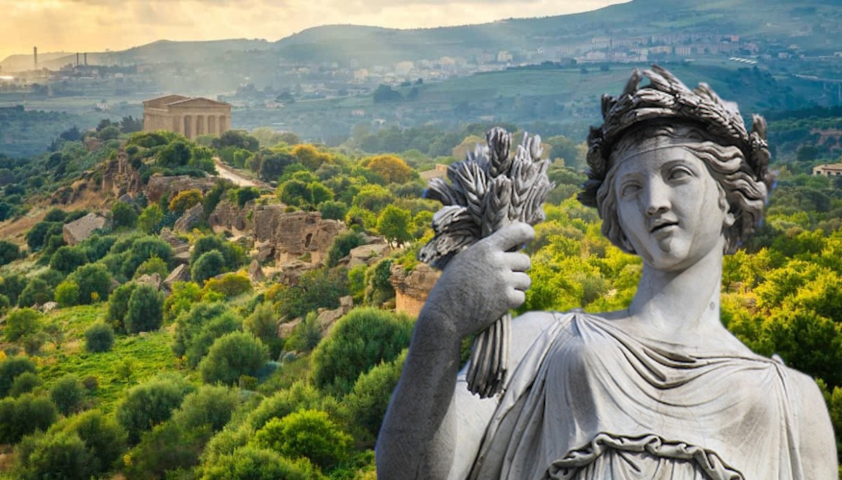La dea Demetra veglierà sulla biodiversità del Parco della Valle dei Templi