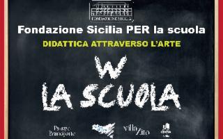 Parte il progetto ''Fondazione Sicilia PER la Scuola''