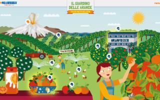 ''Il Giardino delle Arance'' di Oranfrizer diventa digitale