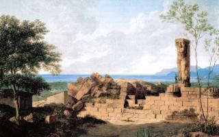 Si rialza il gigante di pietra custode del Tempio di Giove di Agrigento