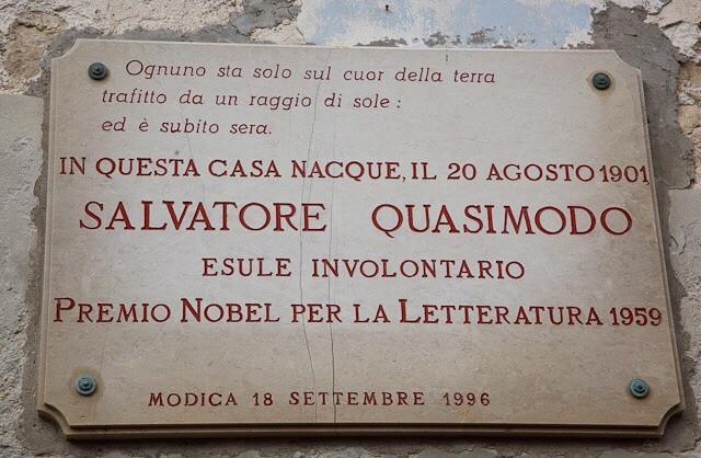 È in vendita la casa natale di Salvatore Quasimodo…