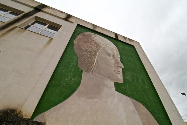 Il murale di Igor Scalisi Palminteri a Contessa Entellina