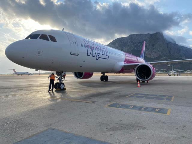 Wizz Air annuncia una nuova base a Palermo