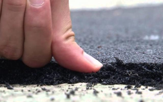 Nel trapanese i pneumatici fuori uso diventano asfalto
