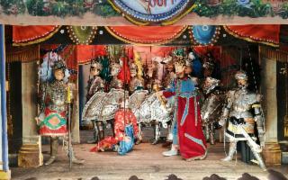 Sicilian Puppets Series - ''L'arrivo di Angelica a Parigi''