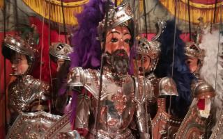 Sicilian Puppets Series - ''Morte di Bramante e Polinoro''